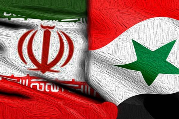 پرچم+ایران+-+سوریه